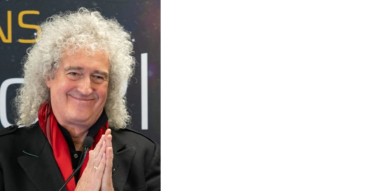 Brian May grey male celebrity