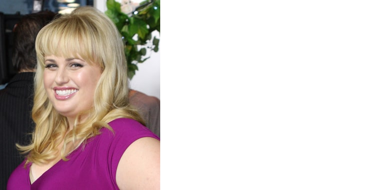 Rebel Wilson, Blonde celebrity smiling