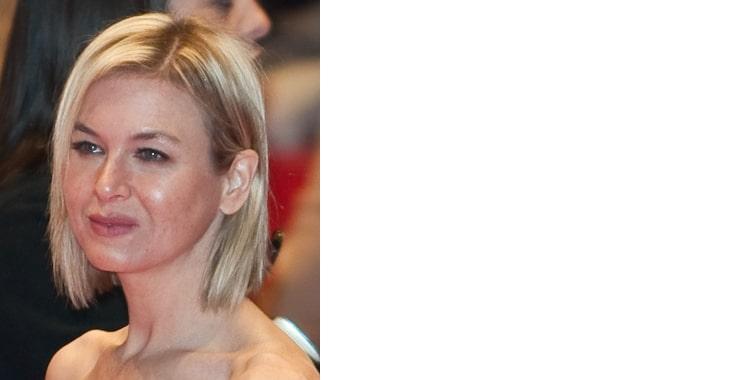 Renee Zellweger, Blonde celebrity smiling