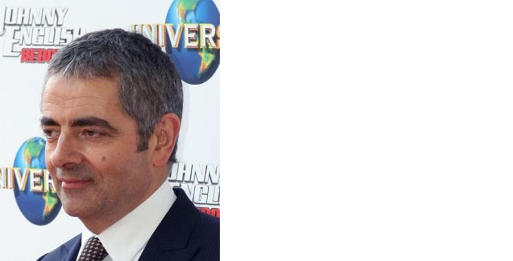 Rowan Atkinson, Brunette male