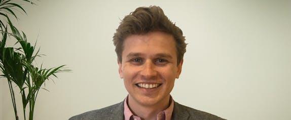 Tom Wilmot, man smiling