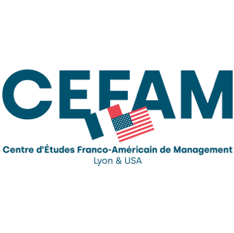 Centre d'Études Franco-Américain de Management logo